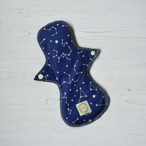 Constellations - Medium  - Bamboo Charcoal Top